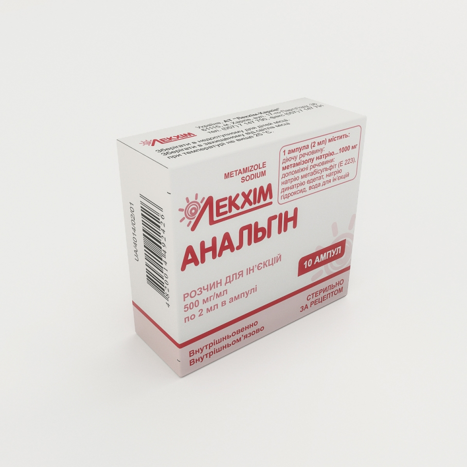 Analgin children: indications, instructions for use, dosage 81